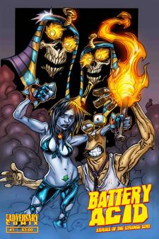 Battery Acid: Tales of the Strange Sort #1