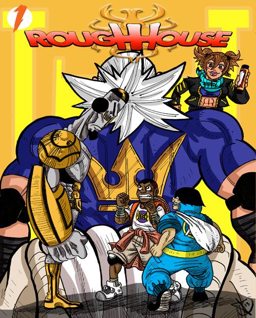 Rough House, an online comic