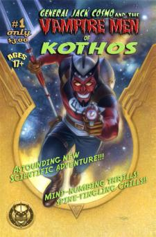 General Jack Cosmo and the Vampire Men of Kothos #1