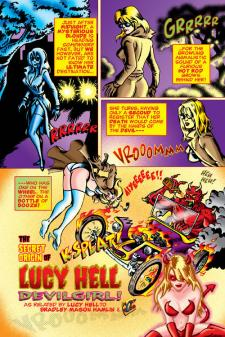 Lucy Hell, Devil Girl #1