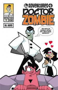 The  Adventures of Doctor Zombie #1 Cvr A
