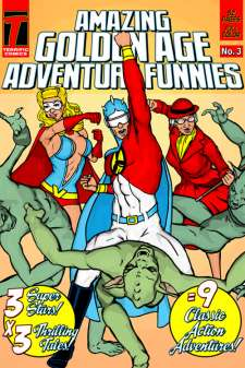 Amazing Golden Age Adventure Funnies #3