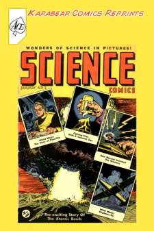 Karabear Comics Reprints: Science Comics #1