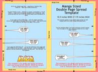 Manga-Sized Page Template   Ka-Blam Digital Printing